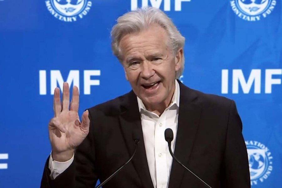 Gerry Rice, vocero del FMI, aseguró que siguen las negociaciones por un acuerdo con el país