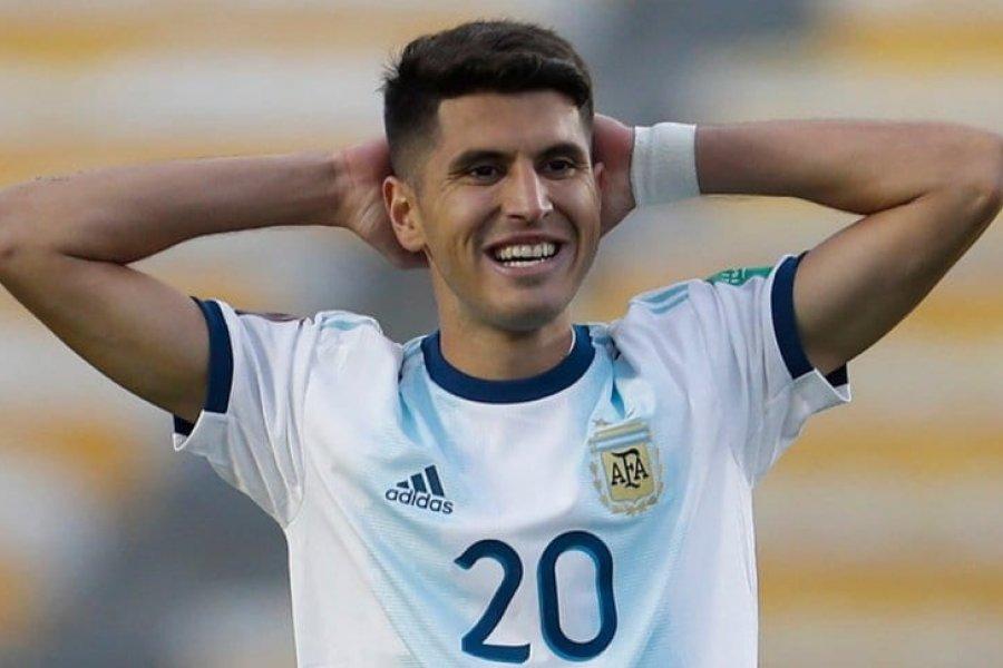 Exequiel Palacios es baja en la Selección Argentina por lesión