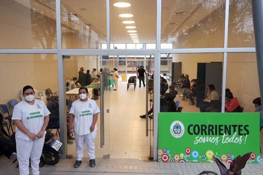 Comenzó la vacunación a menores sin comorbilidades en Corrientes