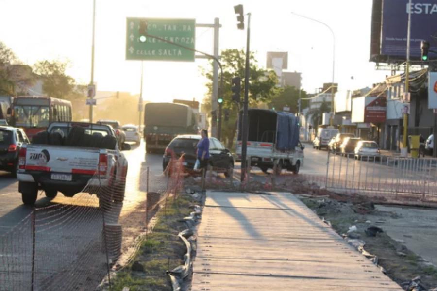 Habilitaron el acceso por la calle España y prevén otros cortes en la avenida Ferré