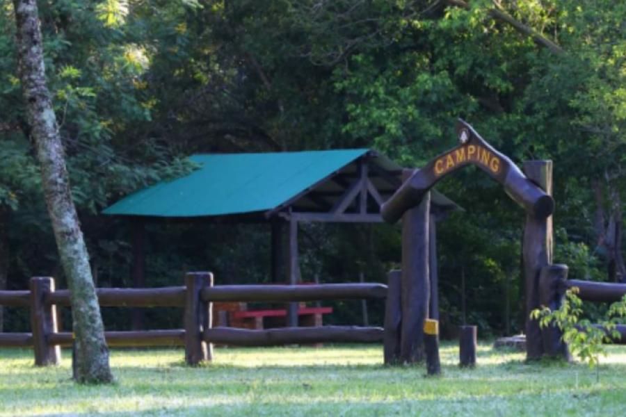 El Parque Nacional Mburucuyá habilita el área de acampe