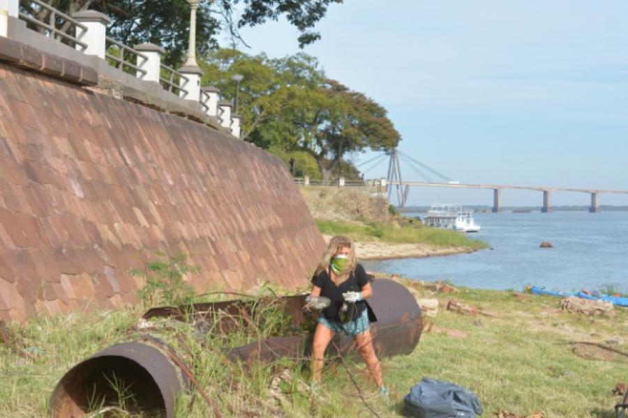 Corrientes se suma al Día Mundial de la Limpieza