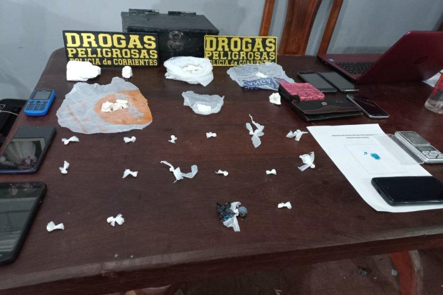 Policías detuvieron a una mujer por comercializar cocaína en Corrientes