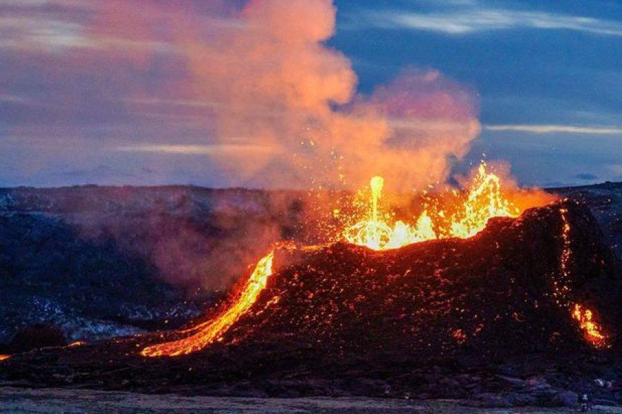 Islandia tiene la erupción volcánica más larga desde hace 60 años