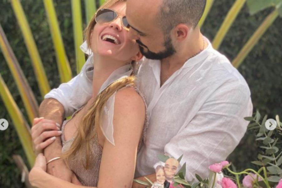 Abel Pintos se casó con Mora Calabrese en una ceremonia íntima en Chaco