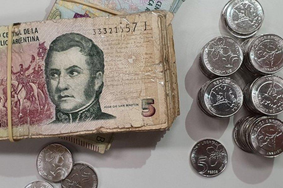 El Banco Central extendió el plazo para canjear los billetes de $5