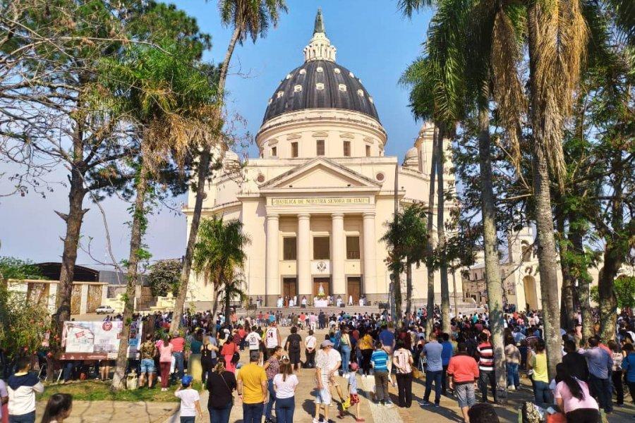 Jóvenes de todo el país llegaron a Itatí en una nueva edición de peregrinación del NEA