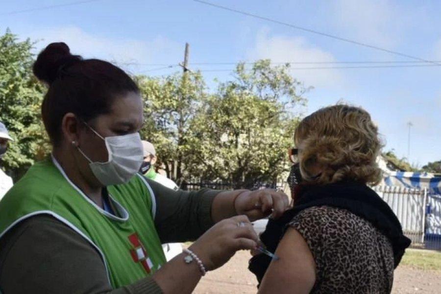 Coronavirus: Completan esquemas de vacunación en barrios de Capital