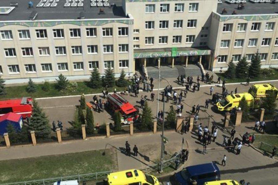 Al menos ocho muertos y varios heridos en un tiroteo en una Universidad de Rusia