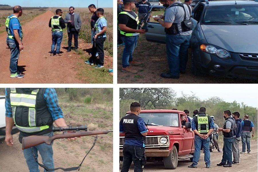 Prevención de Abigeato: La Policía efectuó recorridas en zonas rurales