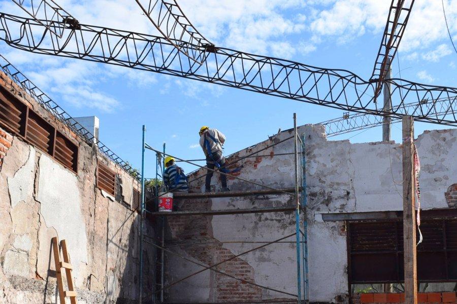 Comenzó la construcción de la primera etapa del nuevo Mercado de Ex Vía