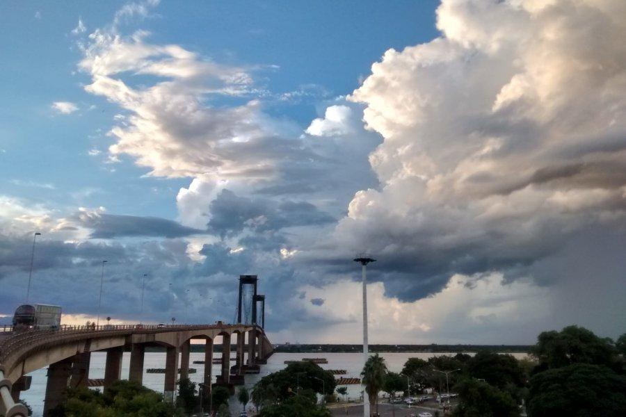 Pronostican tormentas y descenso de temperatura para Corrientes