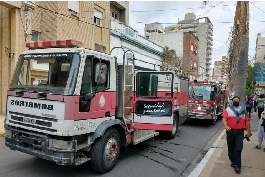 Corrientes: Un obrero cayó desde el séptimo piso de una construcción