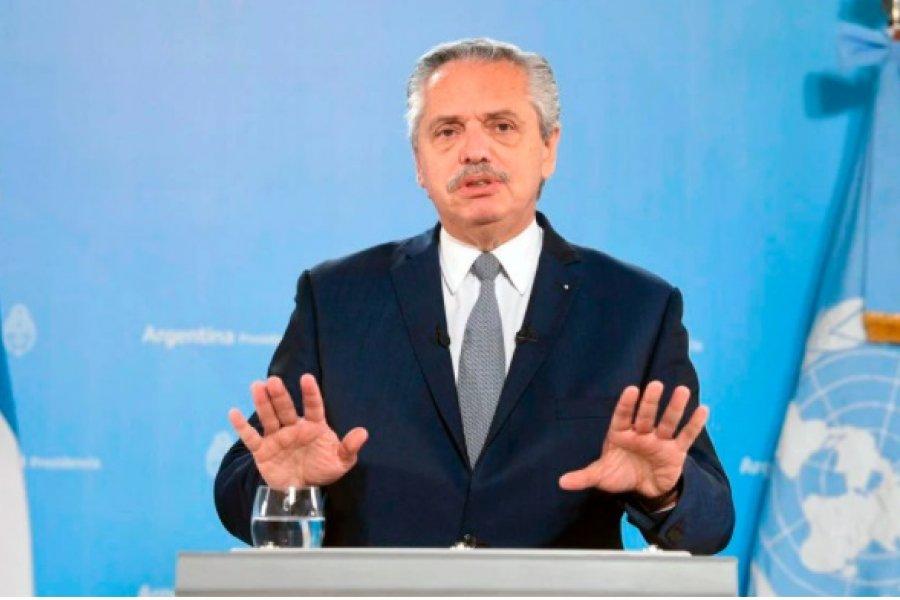 """Ante la ONU, Alberto Fernández criticó al FMI y dijo que Argentina fue sometida a """"un deudicidio"""""""