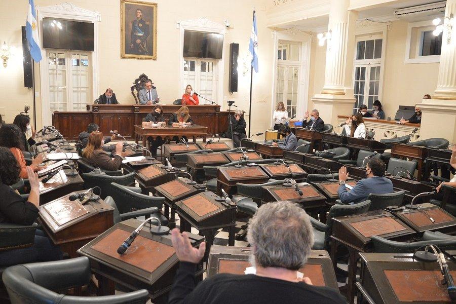 El Concejo Deliberante aprobó el ensanchamiento de veredas céntricas