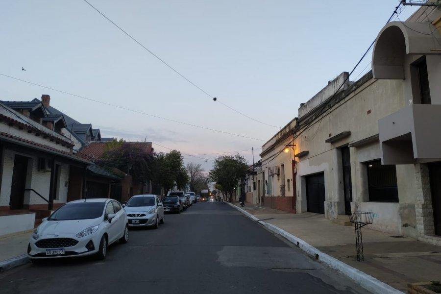 Corrientes amaneció fresco y con cielo mayormente nublado