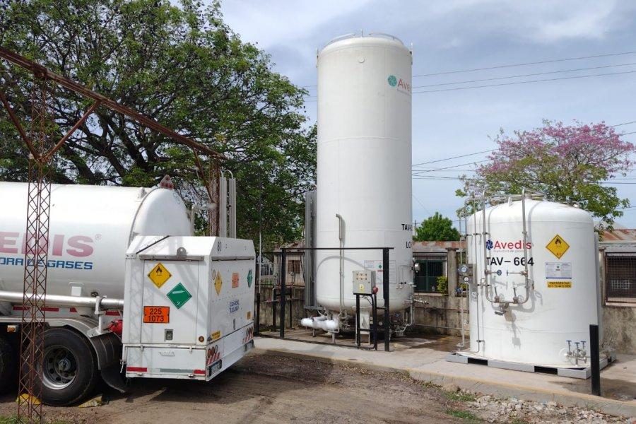 Amplían la red de gases medicinales del hospital  Ángela Iglesia de Llano