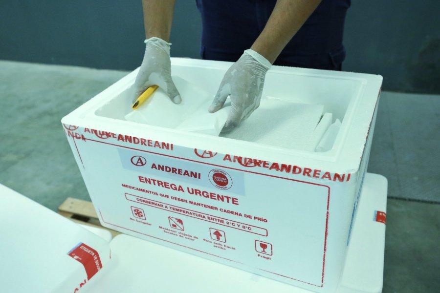 Distribuirán este viernes 45 mil dosis de vacunas en el interior de Corrientes