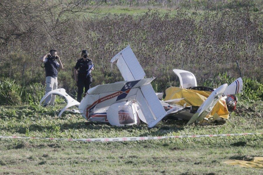 Un instructor de vuelo y su alumno murieron al caer una avioneta