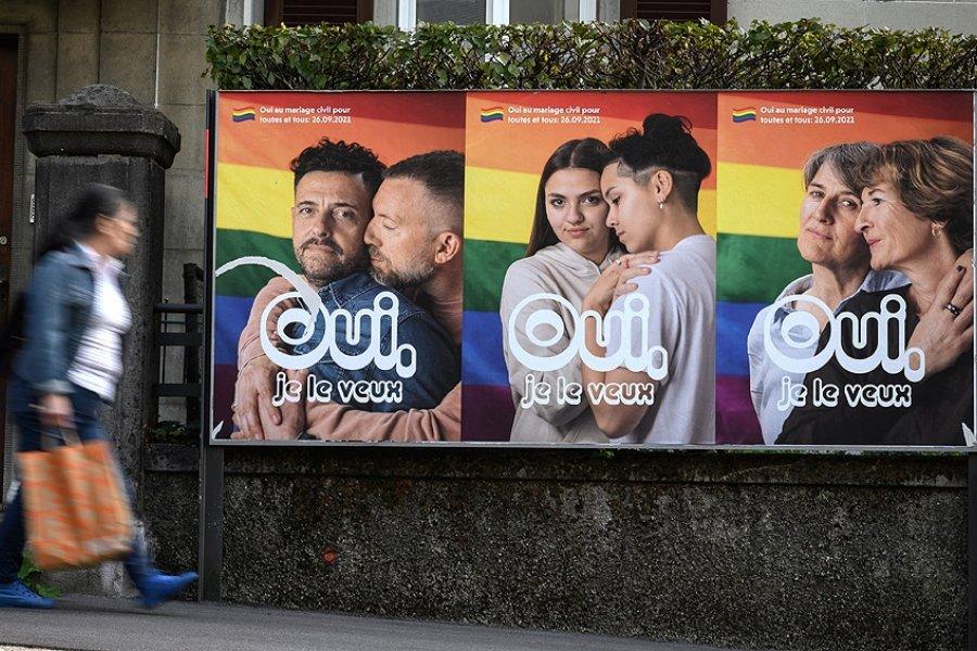 Suiza decidirá si acepta la legalización del matrimonio igualitario