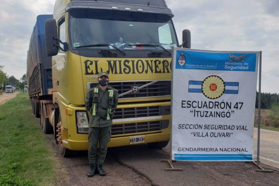 Secuestran 240 mil kilos de soja ilegal en Corrientes
