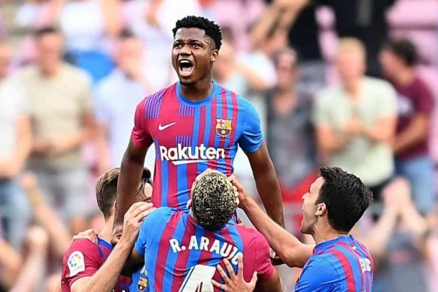 Barcelona goleó a Levante, volvió Ansu Fati y marcó con la 10 de Lionel Messi