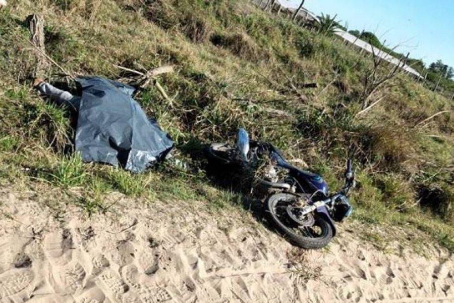 Tragedia en Goya: Un joven despistó con su moto y murió