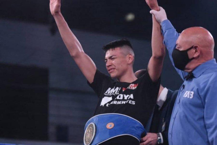 El correntino Lovera venció a Mansilla y retuvo el título argentino