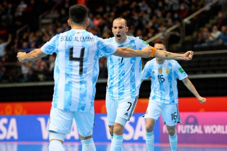 Argentina superó a Rusia en los penales y pasó a la semifinal
