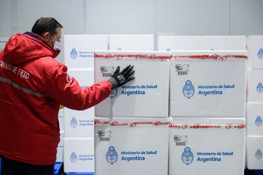 Corrientes recibirá más de 38.000 dosis de vacunas contra el COVID-19