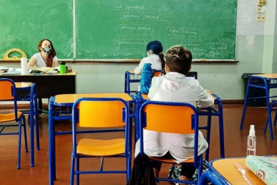 Corrientes: Vuelven las clases presenciales a pleno