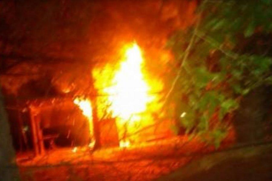 La Policía logró la aprehensión de un tercer sujeto vinculado al robo e incendio de una vivienda