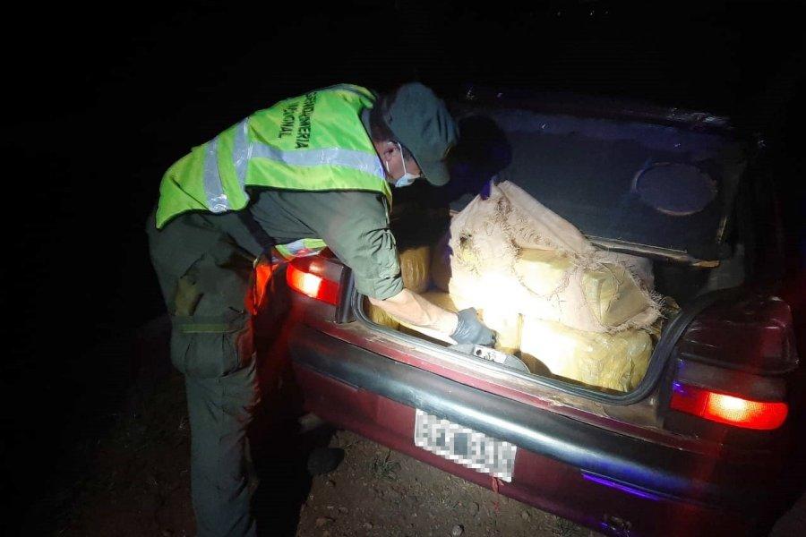 Misiones: Abandonan vehículo cargado con 309 kilos de marihuana