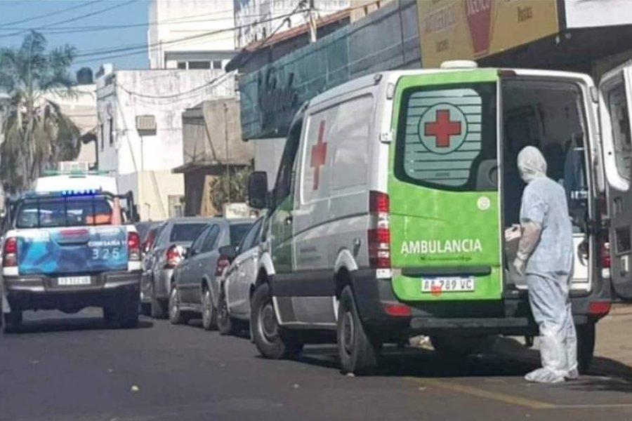 Corrientes: Tarjetero le cobró el estacionamiento a una ambulancia