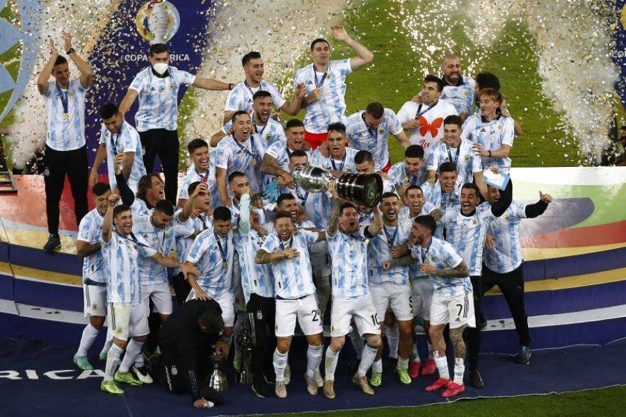 La Selección Argentina y la de Italia jugarán un duelo de campeones en 2022