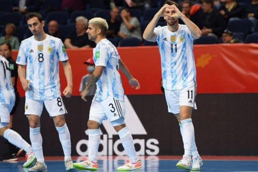 Mundial de futsal: Argentina enfrentará a Brasil por la final