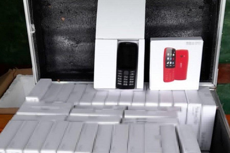 Entre Ríos: Incautan mercadería electrónica valuada en más de dos millones de pesos