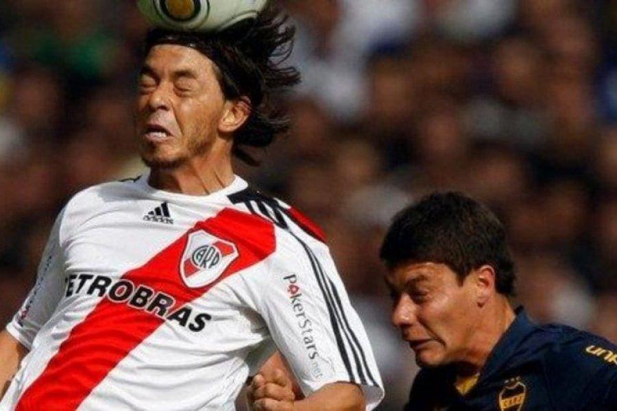 Gallardo vs. Battaglia en el Superclásico: el llamativo historial como jugadores de River y Boca