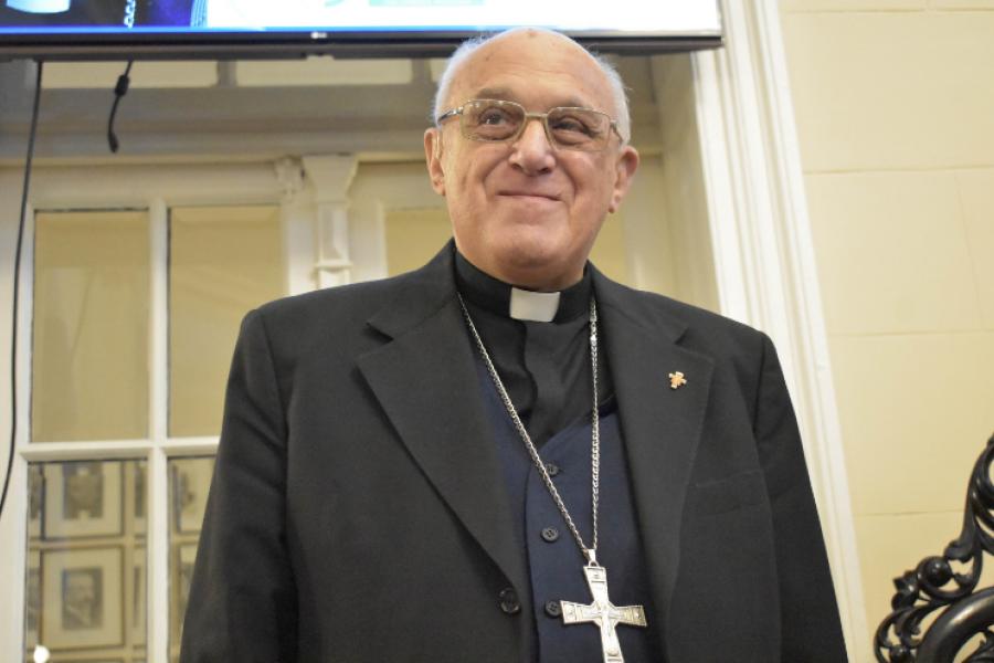 Monseñor Castagna: La pureza del amor de Dios