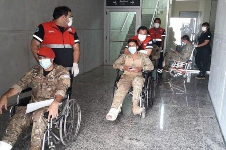 Más de 30 soldados quedaron heridos tras una práctica de paracaidismo