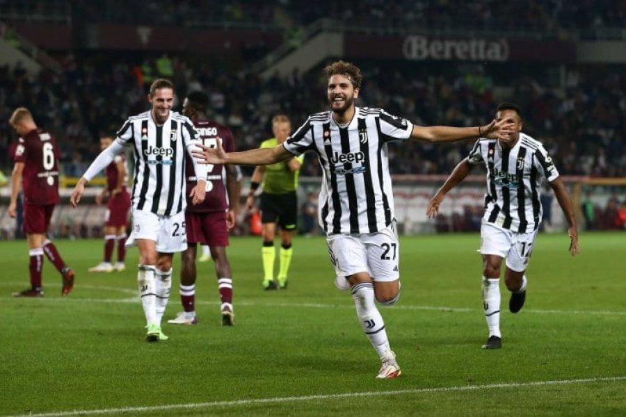 Juventus se quedó con un agónico triunfo en el derby de Turín
