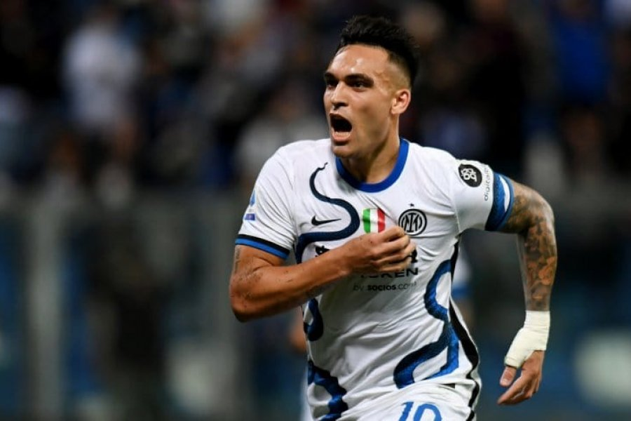 Con gol de Lautaro Martínez, Inter derrotó a Sassuolo en la Serie A
