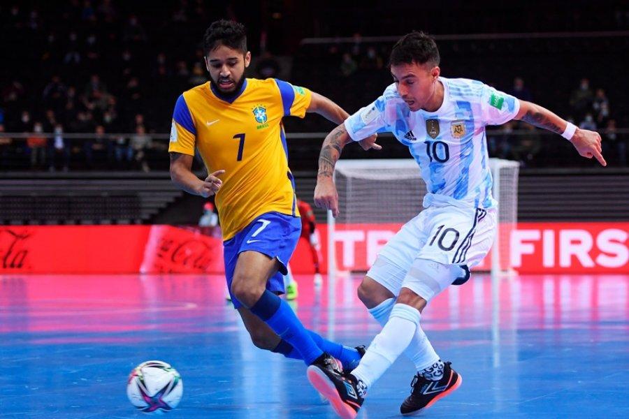Argentina va por el bicampeonato mundial de futsal en la final ante Portugal