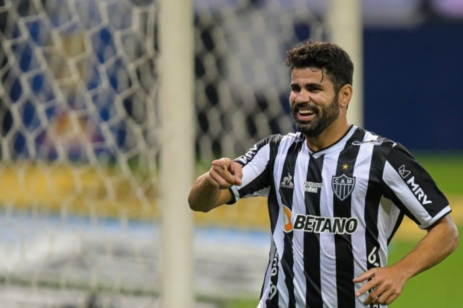 Atlético Mineiro desmintió un problema entre Nacho Fernández y Diego Costa