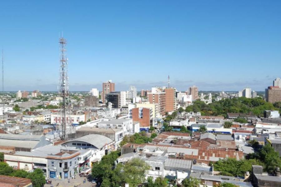 Inicio de semana fresco en Corrientes