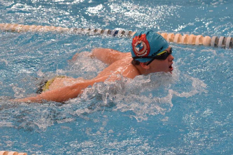 Marcado éxito en el regreso del torneo Aniversario de natación