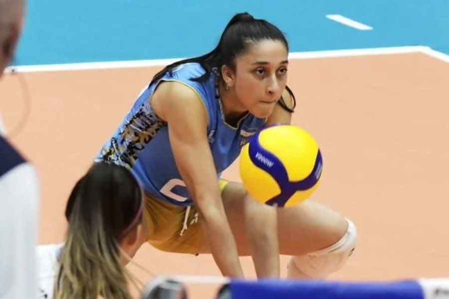 La correntina Victoria Caballero, entre las mejores receptoras y defensas del Mundial U18