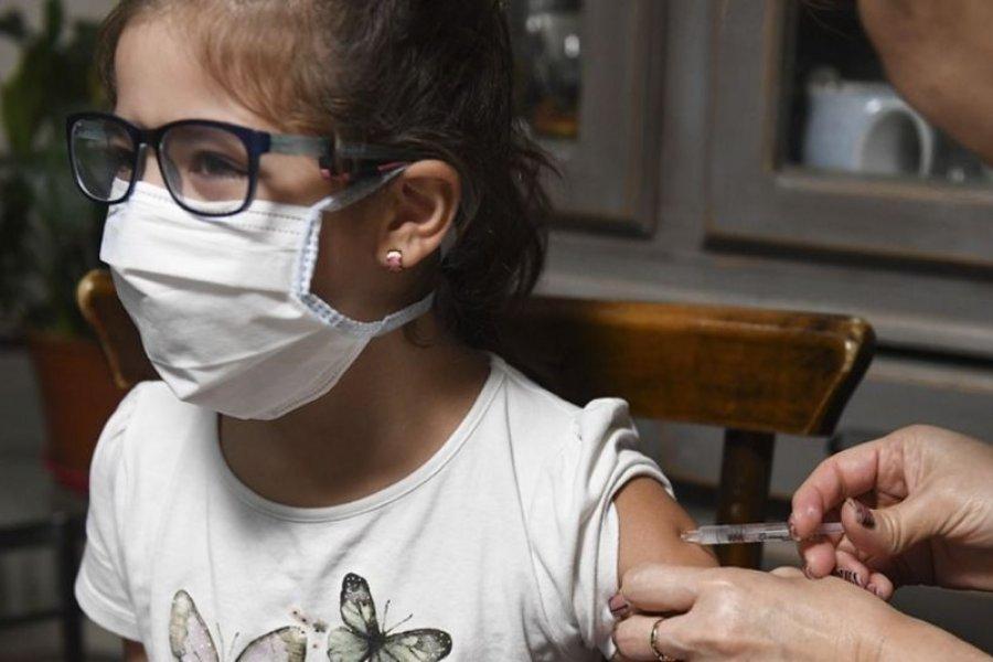 Especialistas celebraron el comienzo de la vacunación en niños y niñas