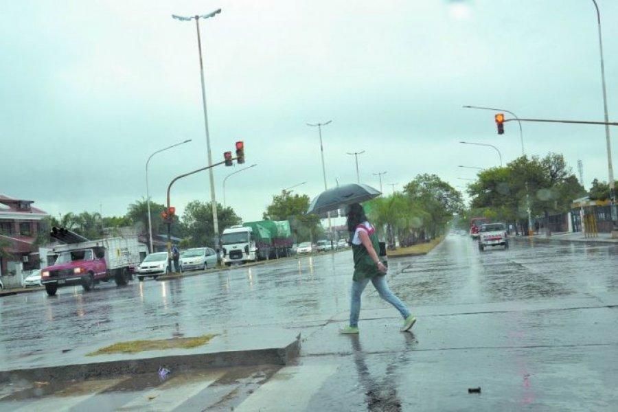 Probabilidad de lluvias aisladas en Corrientes