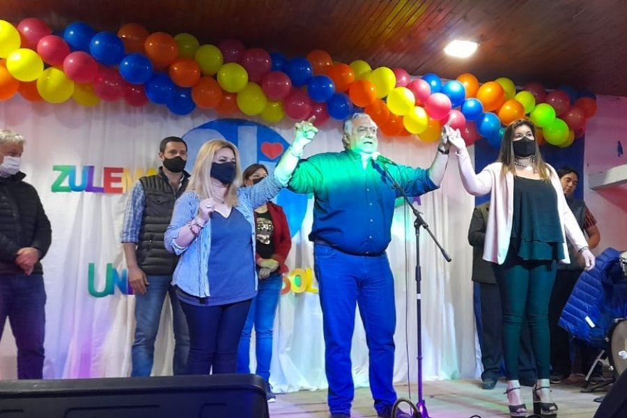 Unidos por Solari cerró la campaña con un acto que presidió Perucho Cassani